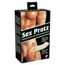 Penispumpe »Sex-Protz« mit Pumpball