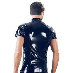 Shirt aus glänzendem Lack