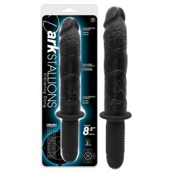 Naturvibrator »Dark Stallions«, 35,2 cm, mit Griff