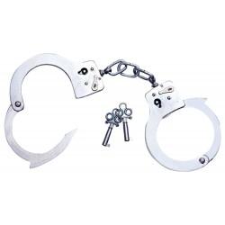 Handfessel »Arrest« aus Metall, mit 2 Schlüsseln