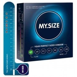 Kondome »MY.SIZE 47 mm«, mit wenig Eigengeruch, 3er