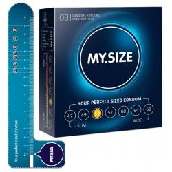 Kondome »MY.SIZE 53 mm«, mit wenig Eigengeruch, 3er