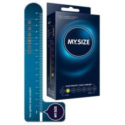 Kondome »MY.SIZE 49 mm«, mit wenig Eigengeruch, 10er