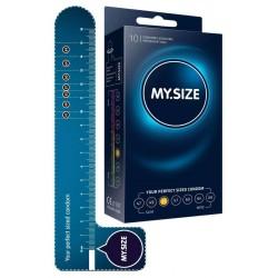 Kondome »MY.SIZE 53 mm«, mit wenig Eigengeruch, 10er