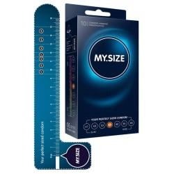 Kondome »MY.SIZE 57 mm«, mit wenig Eigengeruch, 10er