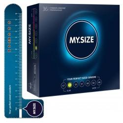 Kondome »MY.SIZE 49 mm«, mit wenig Eigengeruch, 36er