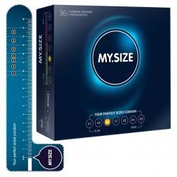 Kondome »MY.SIZE 53 mm«, mit wenig Eigengeruch, 36er
