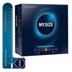 Kondome »MY.SIZE 57 mm«, mit wenig Eigengeruch, 36er