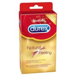 Latexfreie Kondome »Natural Feeling« mit wenig Eigengeruch, 10er