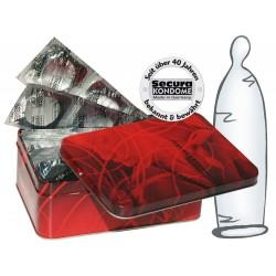 Kondome »Transparent«, hauchdünn, 50er