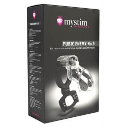 Peniskäfig »Mystim Pubic Enemy No 3«