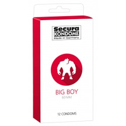 Kondome »Big Boy«, 60mm, 12er