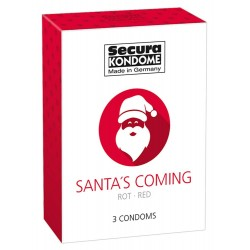 Kondome »Santa´s Coming«, 3er
