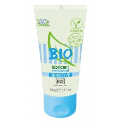 Gleitgel »HOT BIO waterbased Sensitiv«, 100% biologisch, 50 ml