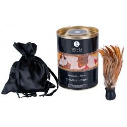 Körperpuder »Honey« inklusive Feder, 228 g