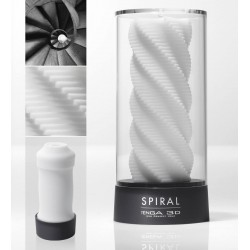 Masturbator »3D Spiral« mit spiralförmiger Reizstruktur