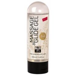 Gleitgel »Massage & Glide Gel«, 2 in 1, 200 ml
