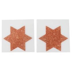 Nipplesticker »Titty Sticker Star Big Copper«, 2 Stück
