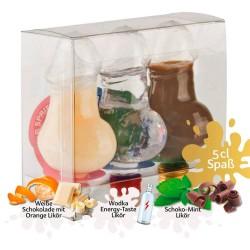 Party-Likör »Kleiner Spritzer Triple Box«, 3 x 5cl, 150 ml