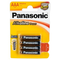 Panasonic Alkaline Micro 4er