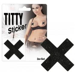 Titty Sticker »X«, selbstklebende Nippelsticker, 2 Stück