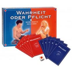 Kartenspiel »Wahrheit oder Pflicht« für die erotische Partyrunde oder zu zweit