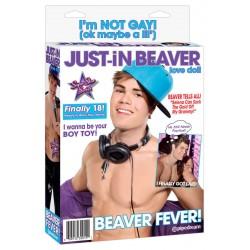 Liebespuppe »Just-in Beaver« mit 2 Öffnungen