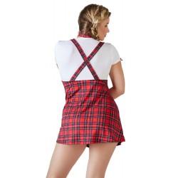 Minikleid plus Krawatte »Schulmädchen«