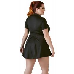 Minikleid im Polizei-Look