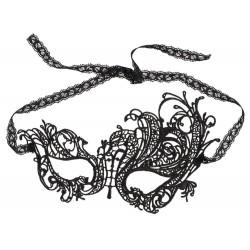 Augenmaske mit verschieden großen Stickereien