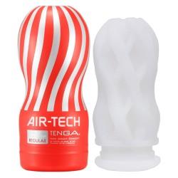 Masturbator »Air Tech«, 15,5 cm, mit Reizstruktur, rot